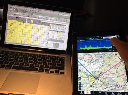 Completing Flight Log and Safe Altitudes