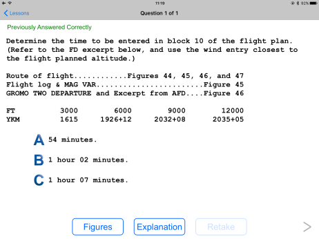 Question as on FAA Exam